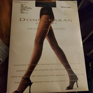 Donna Karan Essentials Pantyhose Tights sheer NWT